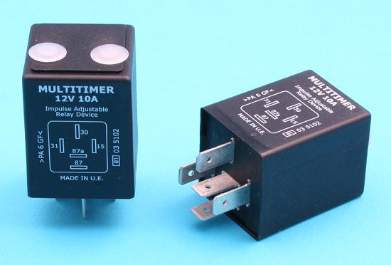 PoleVolt Ltd 12 Volt Timer Relay Configurable Time Delay On Or - On Off Relay Timer Circuit