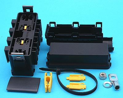 FHA500 400 polevolt ltd 4 way maxi fuse holder distribution box fuse box holder at reclaimingppi.co