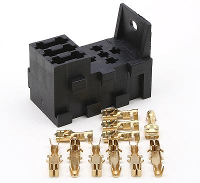 RELF 1KIT 400 polevolt ltd 3 way interlocking fuse box plus 1 relay socket fuse box terminals at gsmx.co