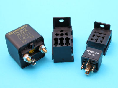 Relays, Solenoids & Holders